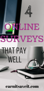 Which four online survey sites are worth your time?