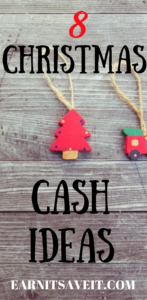 Save money with these Christmas cash ideas.